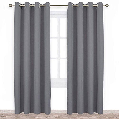 Cheap  NICETOWN Bedroom Blackout Curtains Panels - Triple Weave Energy Saving Thermal Insulated..