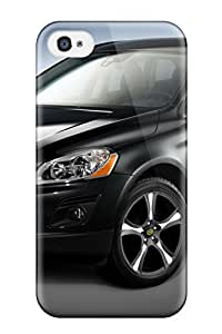 Rugged Skin Case Cover For Iphone 4/4s Eco Friendly Packaging Volvo Xc60 38