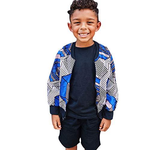 WOCACHI Toddler Kids Little Girls Boys Dashiki African Jacket Boho Windproof Coat Warm Paisley Outwear 2019 Autumn Winter Fall Under 5 Dollars Under 10 or Less New Deals Sales Beige