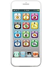 Holmeey Smartphone speelgoed baby telefoon speelgoed leerplezier kinderen smartphone kinderen mobiele telefoon met muziek kinderen mobiele telefoon speelgoed leren Engels educatief speelgoed cadeau voor baby kinderen