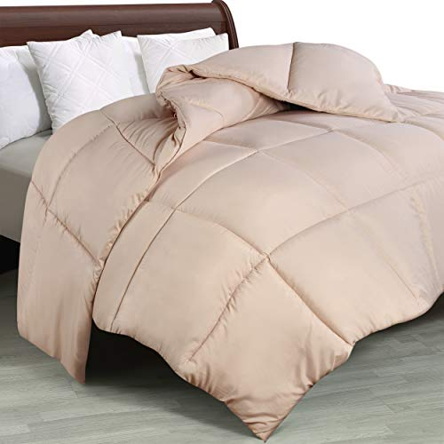 Utopia Bedding Comforter Duvet Insert – Quilted Comforter with Corner Tabs – Box Stitched Down Alternative Comforter…