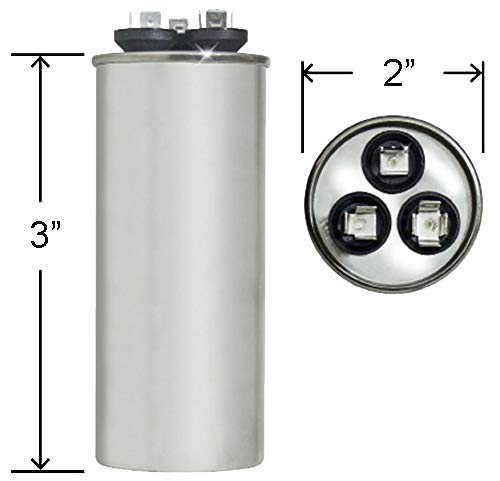 30 uf MFD 370//440 Volt VAC ClimaTek Round Capacitor fits Mars # 12741