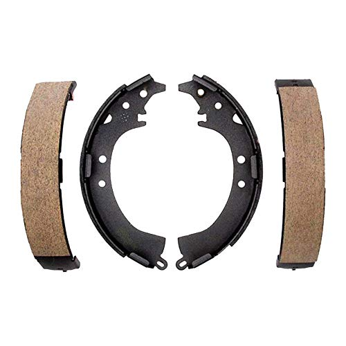 (Detroit Axle - Rear Ceramic Brake Shoes for 2009-2018 Toyota Corolla - [2008-2014 Scion XD] - 2012-2018 Toyota Prius C - [2013 Scion IQ])