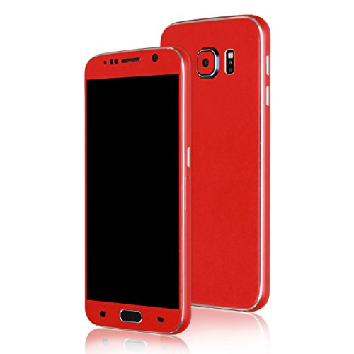 AppSkins Folien-Set Samsung Galaxy S6 Color Edition red