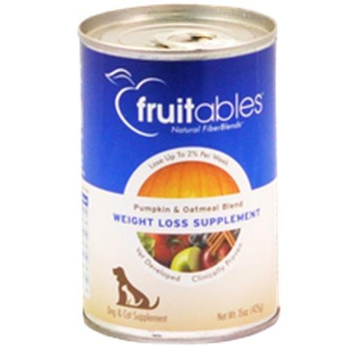 Cheap Fruitables Pumpkin and Oatmeal Weight Loss Supplement for Cats and Dogs, 15 Ounce Can