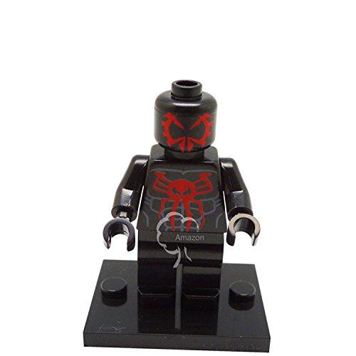 Building Toys Minifigure Spiderman Series - Edge of Time Marvel Mini Figure Plus minifigure sticker
