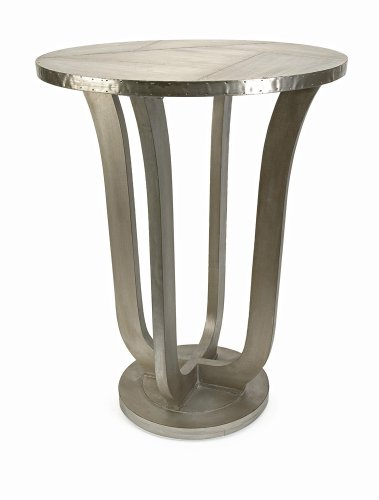 IMAX 68044 Jensen Aluminum Clad Table