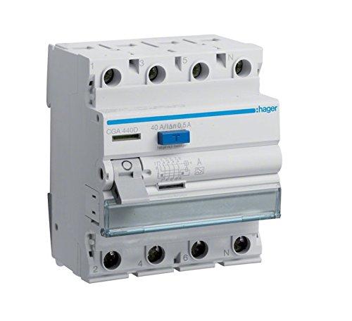 Hager CGA440D FI-Schalter 40A 500mA A-Typ 4-polig