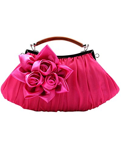 Plum Clutch Women Bags for Womens Bag Handbags Satin Puluo Evening Handbag Sliver Prom Zwp67q