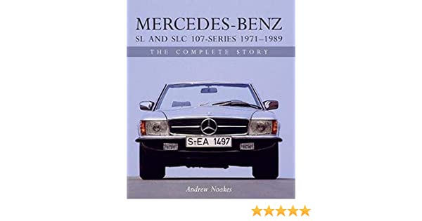 107-series 1971 to 1989 Mercedes-Benz SL /& SLC