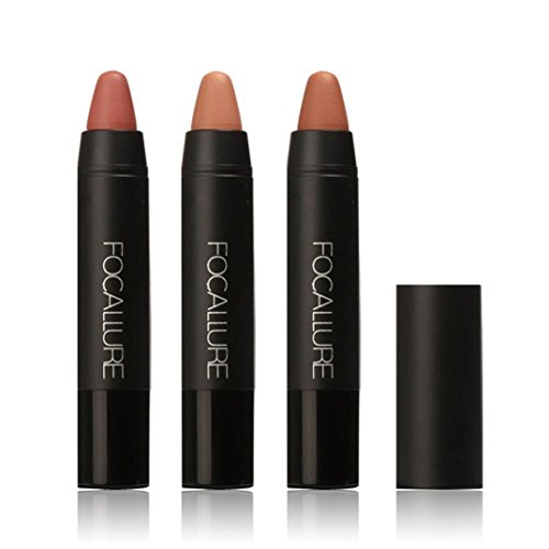 Jungle Makeup Kit (ABASSKY Long-lasting Red Velvet Matte Color Pencil Lipstick Crayon Makeup (KIT 2))
