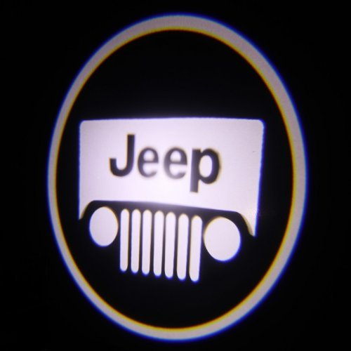 Ghost Shadow Laser Projector Logo Cree LED Step Door Courtesy Light Bulbs - Jeep Model: Car/Vehicle Accessories/Parts