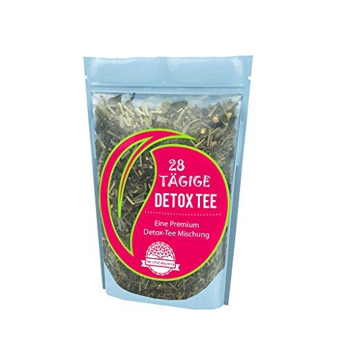 Detox Tee Für 28 Tage   Entschlackungstee Mit 56 Teebeutel   28 Tage Detox Aktionsplan E-Book   Ohne Abführende Wirkung!   Hilft Blähungen Zu Reduzieren   Einschließlich 100% Geld-urück-Garantie!   The Little Health Company®