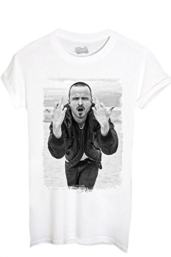 Mush Famous Pinkman xl Bad bianca Jesse Breaking Style 1 Your Dress shirt Bambino T By wS4fxf