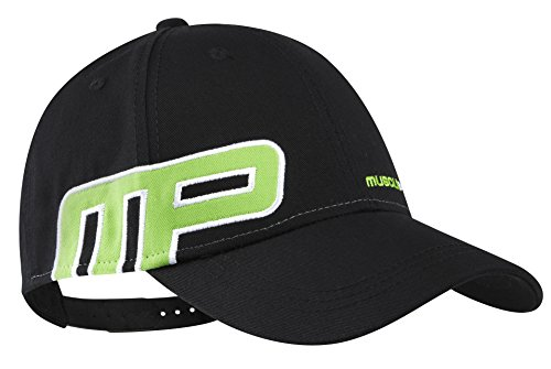 Musclepharm MPHAT456 - MUSCLEPHARM BASEBALL CAP - ONE SIZE - BLACK - Snap Back Gorra De Béisbol - Negro/Negro, Un Tamaño