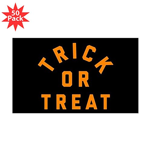 CafePress - Trick Or Treat - Sticker (Rectangle 50 pk) by CafePress