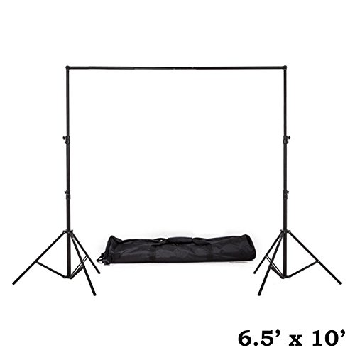 Heavy Duty Pipe (Tableclothsfactory 6.5ft x10ft Heavy Duty Pipe and Drape Kit Wedding Photography Backdrop Stand)