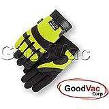 Majestic A1P37Y Needle Puncture/Cut ANSI Cut 5 Resistant Gloves - Medium