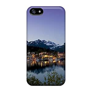 Awesome LastMemory Defender Tpu Hard Case Cover For Iphone 5/5s- Mountain View 2