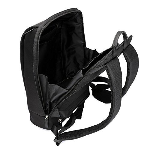 Dos Felicioo Grande color Black A4 Capacité Imperméable Black Multifonctionnel À D'affaires Sac L'eau De pFfqFExS