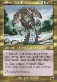 Magic: the Gathering - Sliver Overlord - Scourge