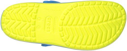 Crocs Unisex Crocband Clog Tennis Ball Verde / Océano