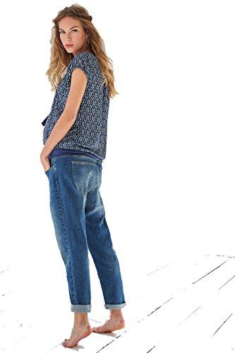 Queen Mum - Jeans - boyfriend - Donna Blue (300)