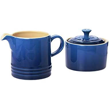 Le Creuset Stoneware Cream and Sugar Set, Marseille