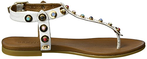 Inuovo 7283, Tongs Femme Blanc (White 16780306)