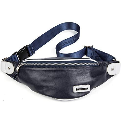 Décontracté Blue Sac 11 Khaki Houyazhan Sport À Taille Bandoulière La Véritable26 De Drôle Pack color Cuir 6 TTwSza