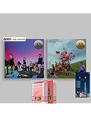 Red Velvet - Queendom [Girls+Queens Full Set ver.] (6th Mini Album) Album+BolsVos K-POP Webzine (20p), Decorative Stickers, Photocards