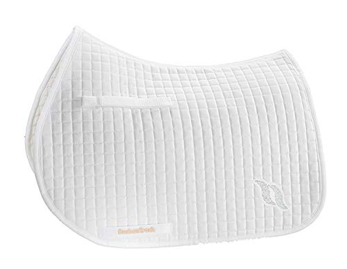 - Back on Track All Purpose Saddle Pad White