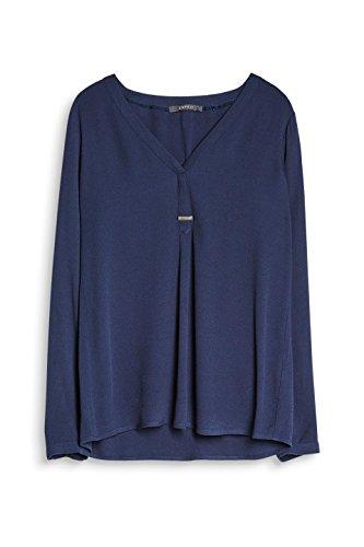 Blouse 400 Navy Femme Collection ESPRIT Bleu Ux8qBRgw5