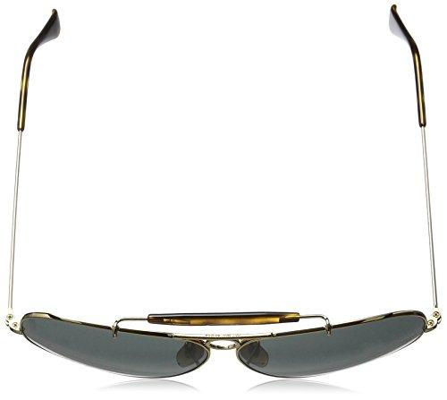 Hombre Gold Ray 62 181 Shooter Sol Ban Gafas de 71 para 88C1zqw