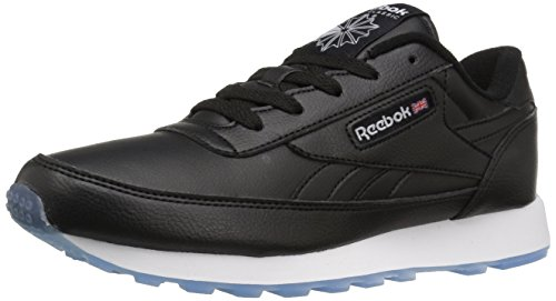 Reebok Women's Cl Renaissance Fashion Sneaker, Black/White/Ice, 9 M US