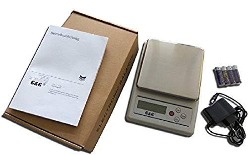 G /& G KF10K Balance de pr/écision P/èse-Lettres