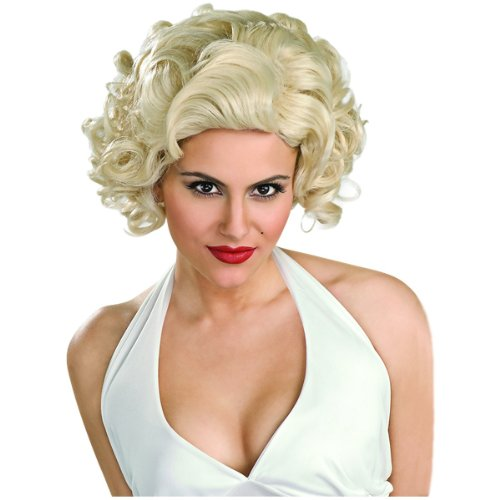 Rubie's Costume Classic Marilyn Monroe Wig, Yellow, One Size (Marilyn Wig Sexy Blonde)