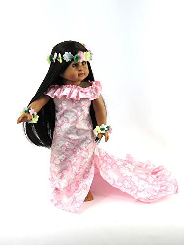Daniella as a Pink Hawaiian Princess: Includes Brunette Doll and Luau Outfit -Fits 18