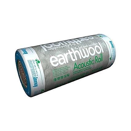 Knauf Earthwool Loft Insulation 100 Millimetre x 13.89 Square Metre Per Roll Pack of 3 Rolls