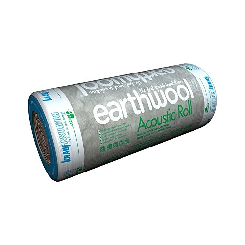 2 x 600mm x 9.17m Long Rolls Per Pack 11m2 per roll 2 x 100mm Knauf Earthwool Acoustic Insulation Roll