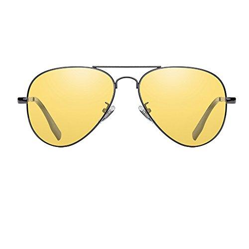 De De De Sol Gafas Las Los ConduccióN Polarizadas Espejo Yellow Al De UV Libre De ProteccióN TESITE Gafas Aire 100 Hombres qXSw1SB