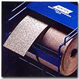 Norton A275 No-Fil Adalox Abrasive Roll, Paper Backing, Pressure Sensitive Adhesive, Aluminum Oxide, Waterproof, Roll 2-3/4'' Width x 25yd Length, Grit 80 (Pack of 1)