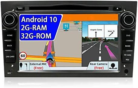JOYX Android 10 Autoradio Compatible Para Opel Vauxhall Antara Astra Zafira Corsa Meriva - GRATIS Cámara Canbus Micrófono - 2G/32G - 2 Din - 7 ...