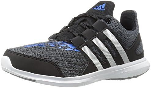 adidas Boy's Hyperfast 2.0 k Running Shoe, Onix/Black/Unity Blue ...