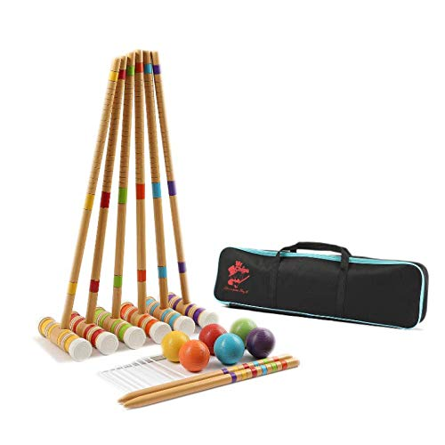 Play croquet for family fun