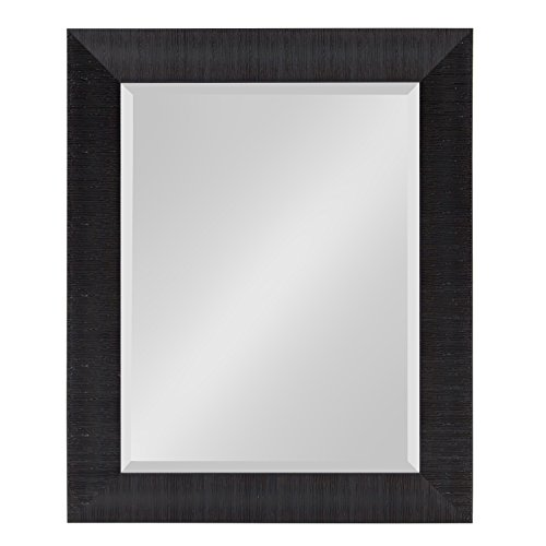 - Kate and Laurel Reyna Framed Wall Mirror, 23.75x29.75 Black
