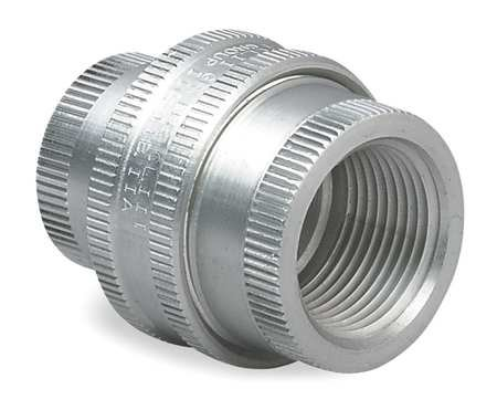 Union, Aluminum, Female to Female Connection, 1/2'' Conduit Size GUF-1