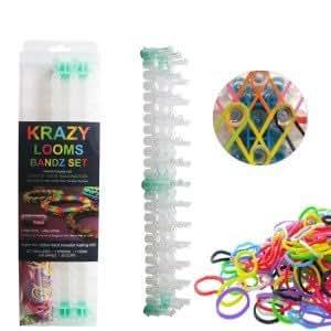 Krazy Looms Bandz Set. Crea tus pulseras de gomitas - Color - Verde