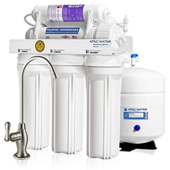 Image of APEC Top Tier Supreme Certified Alkaline Mineral pH+ High Output 90 GPD 6-Stage Ultra Safe Reverse Osmosis Drinking Water Filter System (ULTIMATE RO-PH90)