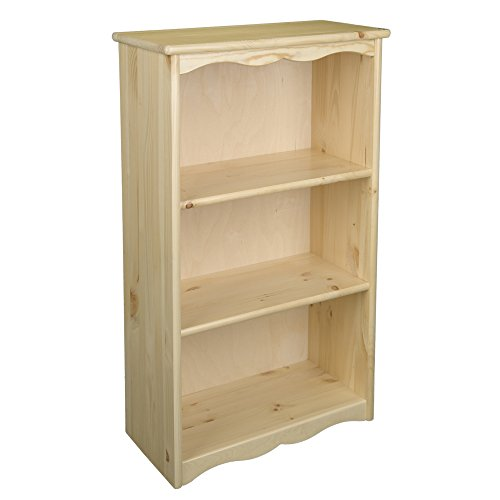 - Little Colorado Kids Book Storage Traditional Bookcase Natural Lacquer